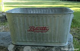 vintage galvanized wash tub old galvanized wash tubs for