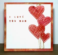 I Love You Crafts Bonjour Scrap Kids Craft For Mothers Day With Step By Step I