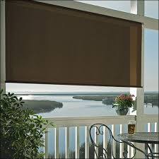 coolaroo cordless exterior roller shade. Home And Furniture: Artistic Coolaroo Exterior Roller Shade In 8 X Premier Desert Sand W Cordless