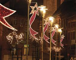 christmas lighting decoration. Christmas+Decorations+for+City+Poles | Dekra-Lite Commercial Christmas Lights And Displays Lit With C7/C9 . Lighting Decoration S