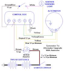 in car amp meter with alternator Wiring-Diagram Internal Regulator Alternator ammeter with alternator