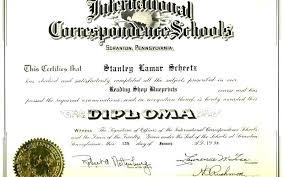 School Certificates Template Free Fake High School Diploma Templates Create Sample