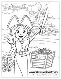 Small Picture Girl Pirate Coloring Page Pirate Coloring Pages Pinterest