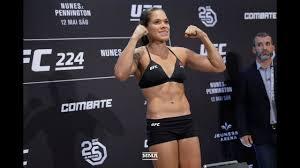 UFC 224 Weigh-Ins: Amanda Nunes, Raquel Pennington Make Weight - MM...