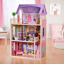 interesting kayla toy kidkraft dollhouse with cozy parkay floor