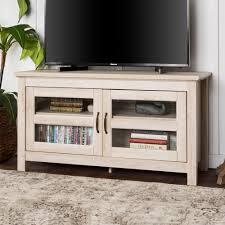 tv stand with storage. Simple With 44inch Wood TV Stand Storage Console With Tv Stand N