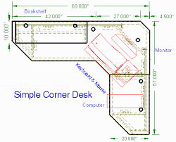 Corner computer desk plans Corner computer desk plans L shape desks with a  hutch like these really deliver in providing that extra storage in the  tightest ...