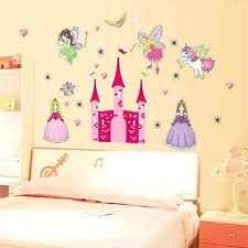 fairy wall decals large fairy princess castle wall stickers art flower fairy wall decals fairy wall decals