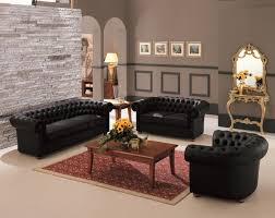 Living Room With Chesterfield Sofa Interior Traditional Chesterfield Sofa Design In Calm Living Room