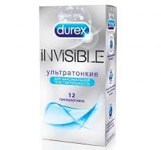 <b>Презервативы Durex Invisible</b> ультратонкие, <b>12шт</b>. - купить в ...