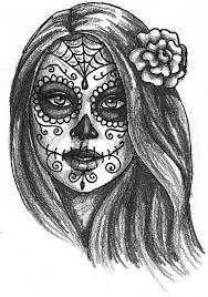 best day of the dead art ideas day of the dead  day of the dead drawings day of the dead girl by ~dragonwings13 on