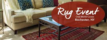 the always popular fair trade oriental rug event returns to the rochester one world goods on october 5 9 for 5 days only more than 300 luxurious