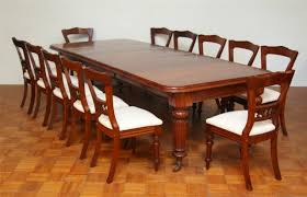 Extension Dining Table Seats 12