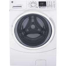 GE 4.5-cu ft High Efficiency Stackable Front-Load Washer (White) ENERGY