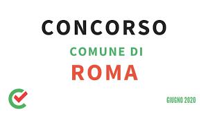 Concorso Comune di Roma – 1512 posti disponibili [Giugno 2020] - YouTube