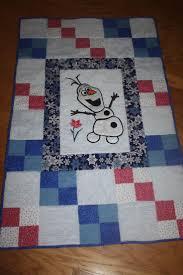 14 best Quilts - Disney images on Pinterest   Disney quilt, Baby ... & disney Frozen olaf baby quilt Adamdwight.com