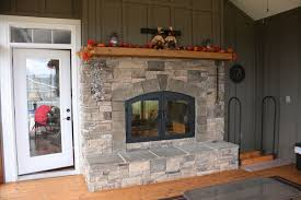 image of home design indoor outdoor wood fireplace see thru fireplaces