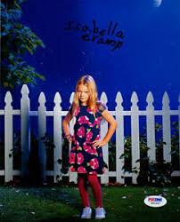 Isabella cãibra assinada 8x10 Foto Abby Weaver os vizinhos PSA / DNA  Autografado | eBay