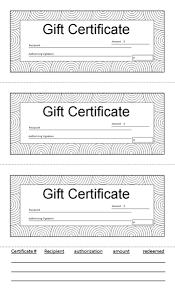 Free Gift Voucher Template For Word 7 X 3 Gift Certificate Template Word Customcartoonbakery Com