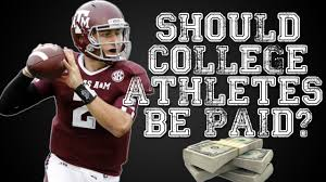 should college athletes be paid question