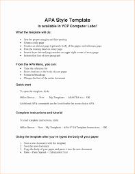 Apa Research Paper Template New 18 Apa Format Paper Simple