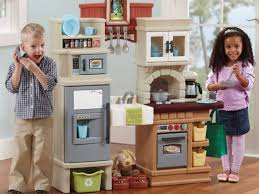 step 2 walk in kitchen and grill 61 toddler play kitchen grand walk in kitchen grill