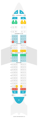 Boeing 737 700 Seating Chart United Mapa De Asientos Boeing 737 700 737 V3 United Airlines