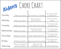 Sample Chore List Get Your Floors Clean For The Holidays With The OCedar ProMist 13