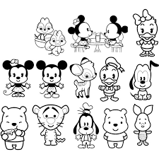 Small Picture Printable 27 Disney Cuties Coloring Pages 9319 Best Fresh