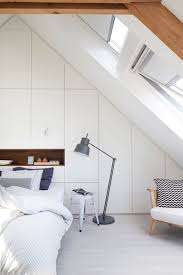 Bedroom: Loft Headboard Bedroom Shelving - Loft Bedroom