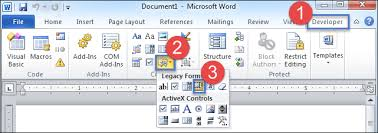Insert Frame Into Microsoft Office Word