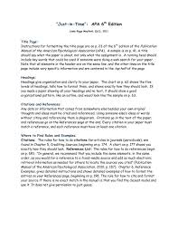 Apa 6 Sample Paper Apa 6th Edition Sample Paper Apa 6th Edition Apa Template