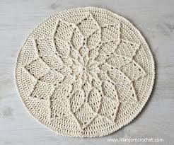 mandala is round and flat large or small it can be used as a table decoration as a trivet for a bowl with fruits for example or vase with flowers