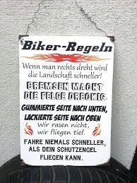 Edles Holzschild Für Alle Motorradfahrer Große Dina4 Mit Einer