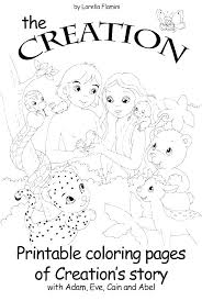 Adam And Eve Coloring Page For Preschoolers Pages Dpalaw