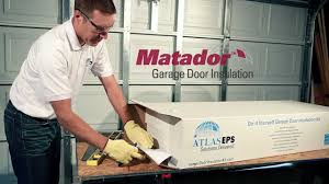 garage door kitMatador Garage Door Insulation Kit  YouTube