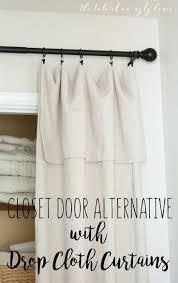 Best 25+ Curtain closet ideas on Pinterest | Curtains for closet ...
