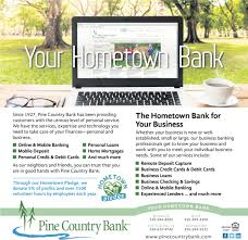 ads for pine country bank in royalton mn
