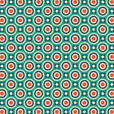 Bullseye Pattern Gorgeous Mid Century Modern Circles Retro Bullseye Pattern Duvet Cover By