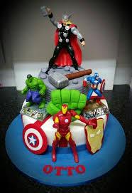 75475 Marvel Cake In 2018 Superhero Cake Cake Birthday