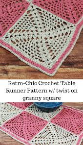 Crochet Table Runner Patterns Easy Simple Ideas