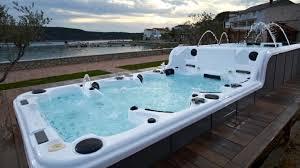 hot balboa system ass massage hot tub with tv sr859
