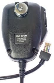 icom 706 mk ii g icom hm 100n condenser microphone w rj 45