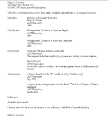 resume examples for college students work experience resume 10 job resume examples no experience resume resume no work