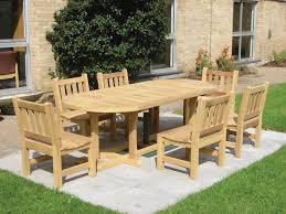 wooden outdoor furniture. Exellent Outdoor Wooden Garden Furniture Dining To Outdoor O