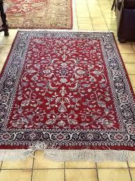 4 x 6 oriental rug redblue w