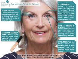 eye makeup for older women is challenging to apply well but these guidelines will help you to achieve a professional finished effect