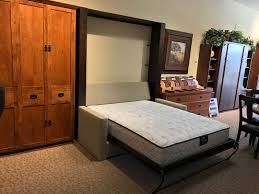queen size murphy beds. A Few More Steps To The Left, You\u0027ll See A Beautiful Mission Style Home  Office That Includes Queen Murphy Bed, An 84\ Size Beds U