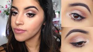 makeup tutorial for brown eyes for beginners