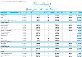 Destination Wedding Budget Template Template Creator